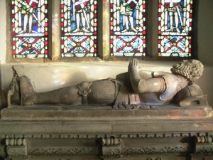 Tomb of John Neville Last Lord Latimer 1557